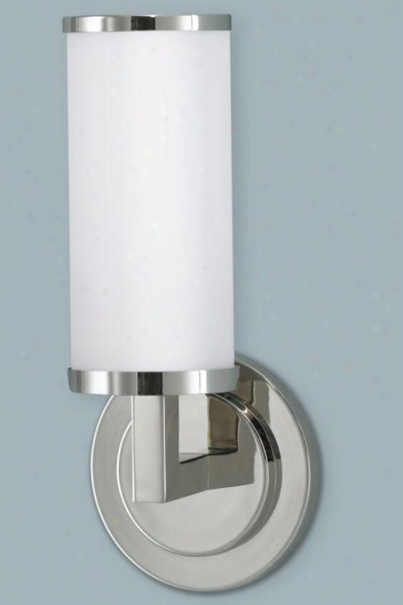 Barkley Vanity Light - One Light, Steel Gray Nickel