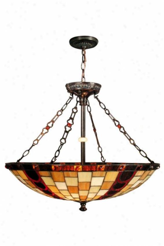 Baroque Mini Pendant Lamp - Mini Pendant, Bronze