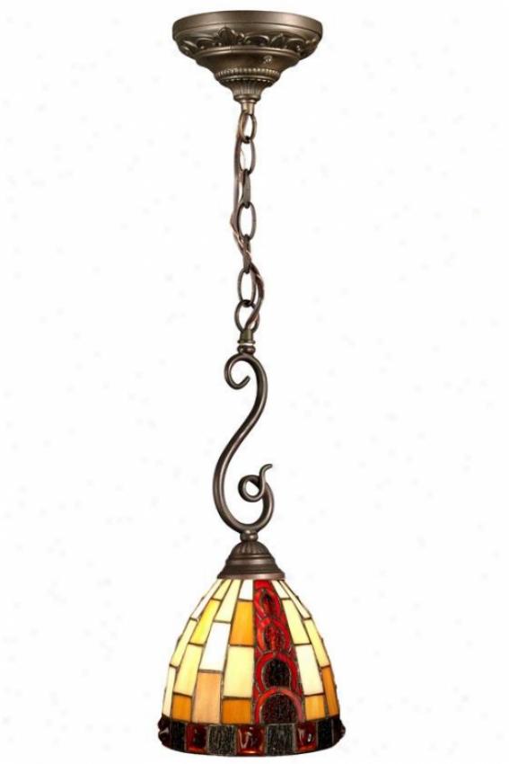 Baroque Pendant Lamp - Pendant, Bronze