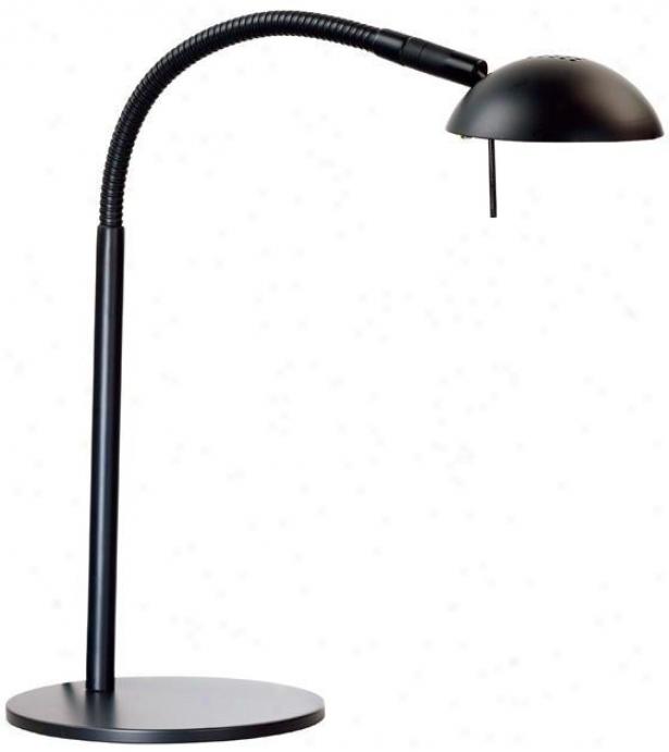 """""""basis Halogen Desk Lamp - 21""""""""h, Black"""""""