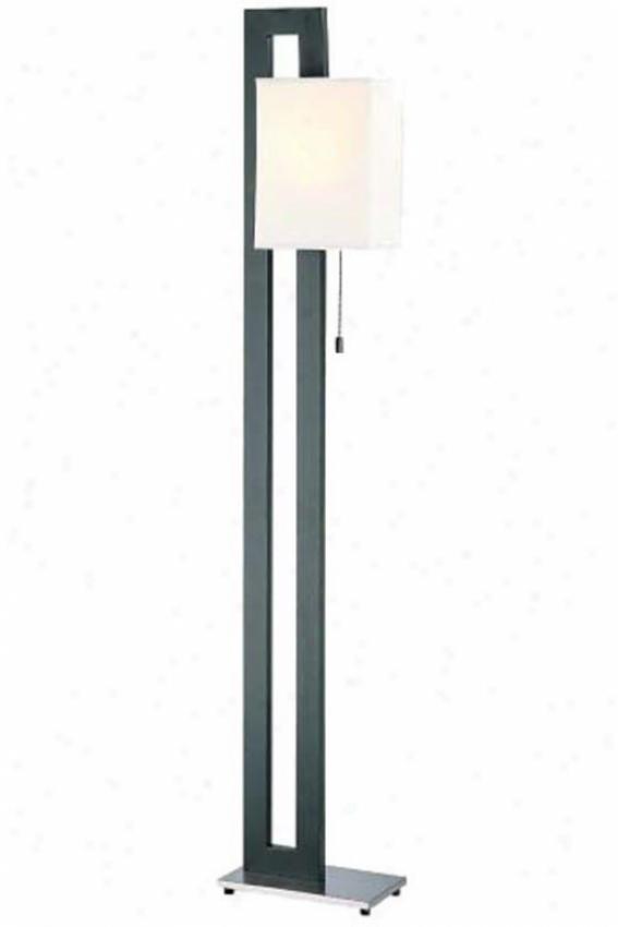 """""""benito Floor Lamp - 58""""""""hx11""""""""w, Black"""""""