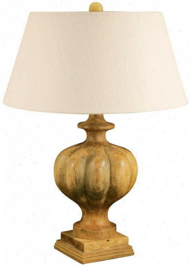 """benton Park Tabld Lamp - 27""""hx20""""w, Brown"""