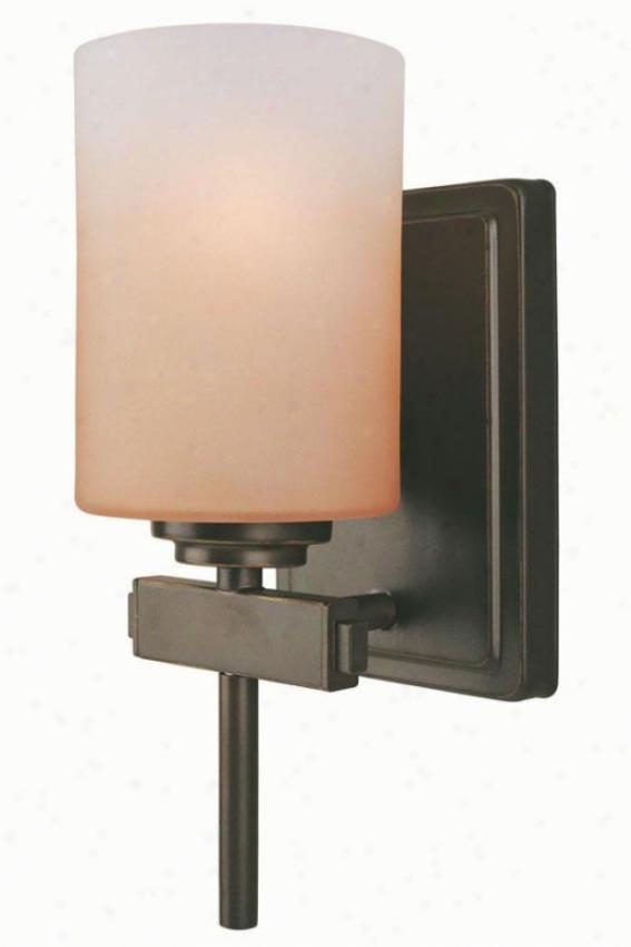 Bess Wall Sconce - One Light, Bronze