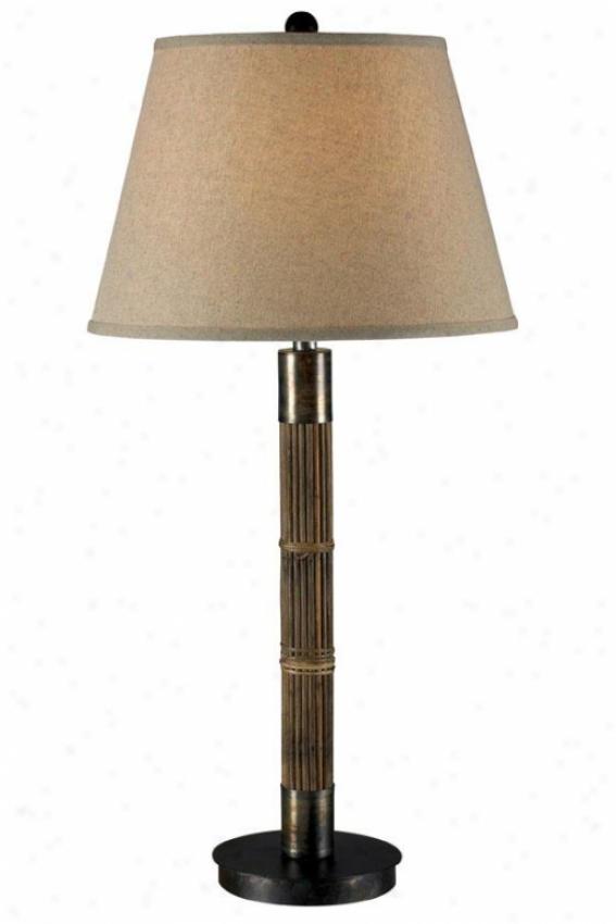 """bethany Table Lamp - 31""""h, Natural Reed"""