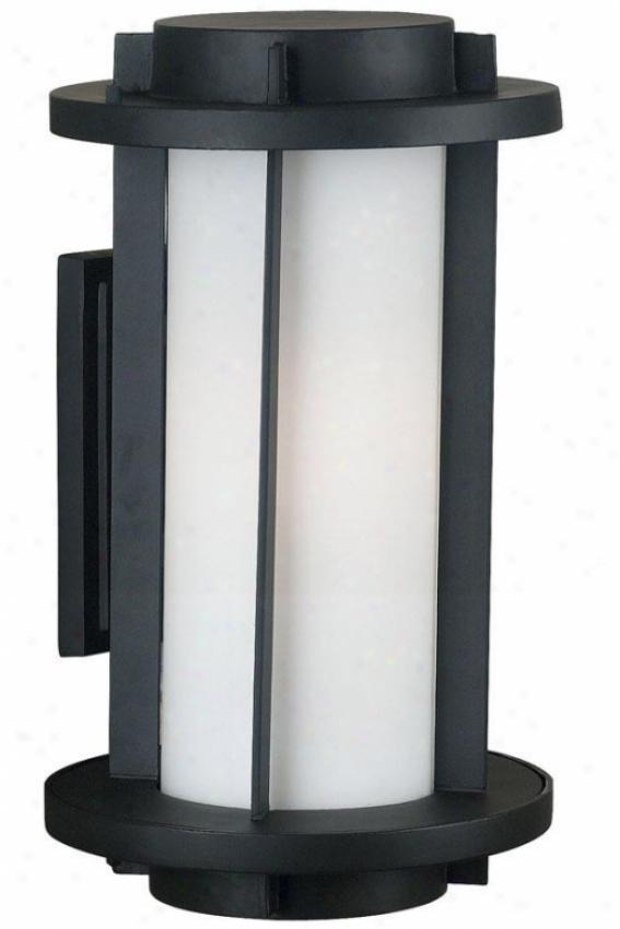 Blake Outdoor Wall Lantern - 2-light/large, Espresso Bronze