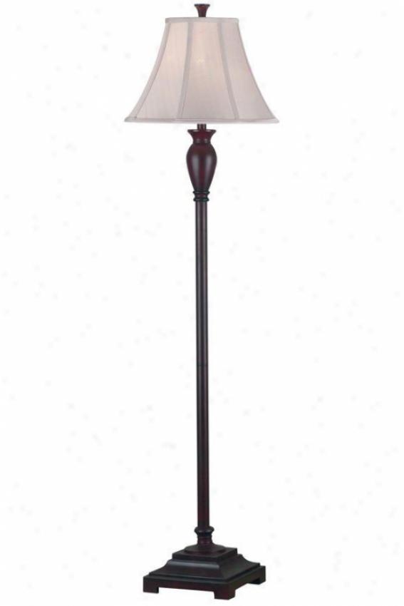 """""""brevard Floor Lamp - 61""""""""hx16""""""""d, Dark Burgundy"""""""