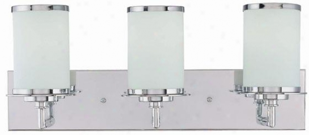 Brillante 3-light Vanity Buoyant - Three Light, Gentle Chrome