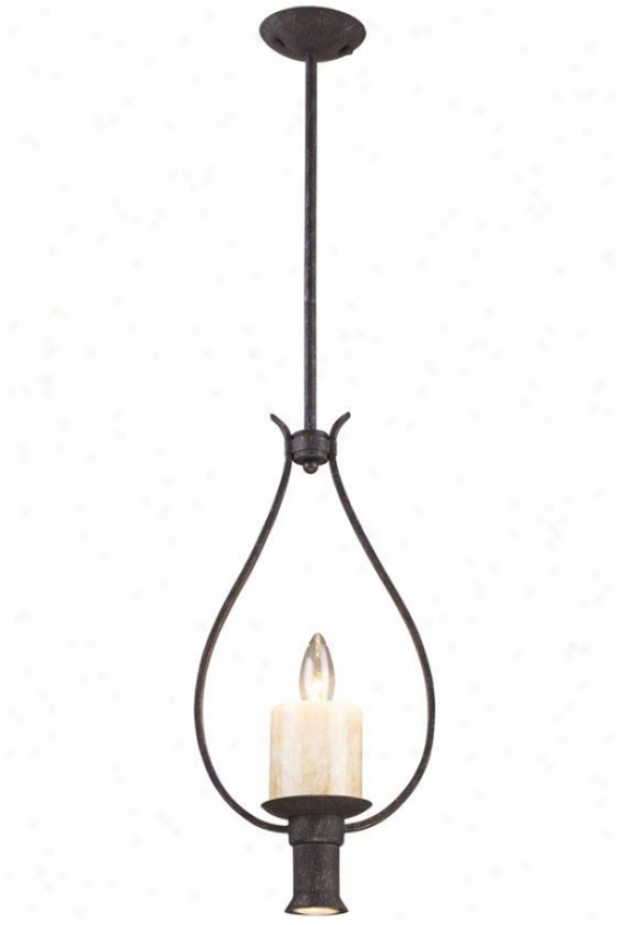Camden Light Pendant - 1+1 Light, Moonlit Rust