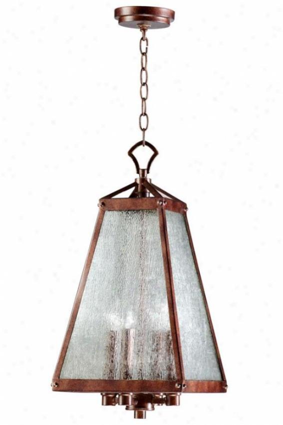 """""""canterbury Lantern - 26""""""""hx12""""""""square, Oiled Bronze"""""""