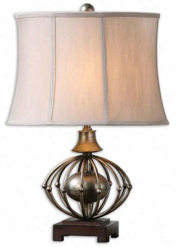 """""""celestiana Table Lamp - 25.5""""""""h, Anitqied Silver"""""""