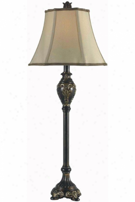 Cpntessa Buffet Lamp - Set Of 2 - Set Of 2, Bronze
