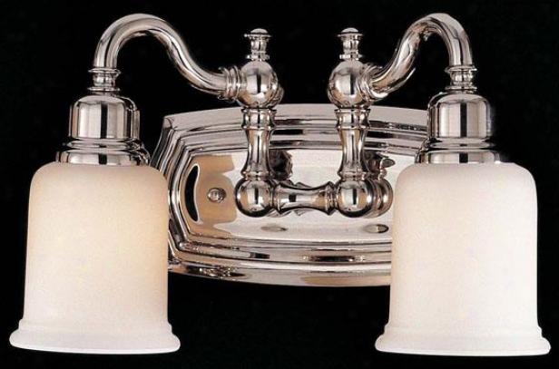 Cottsworth Vanity Easy  - Two Light, Steel Gray Nickel