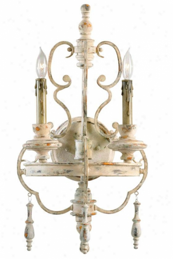 Davinci Sconce - 2-light, Persian White