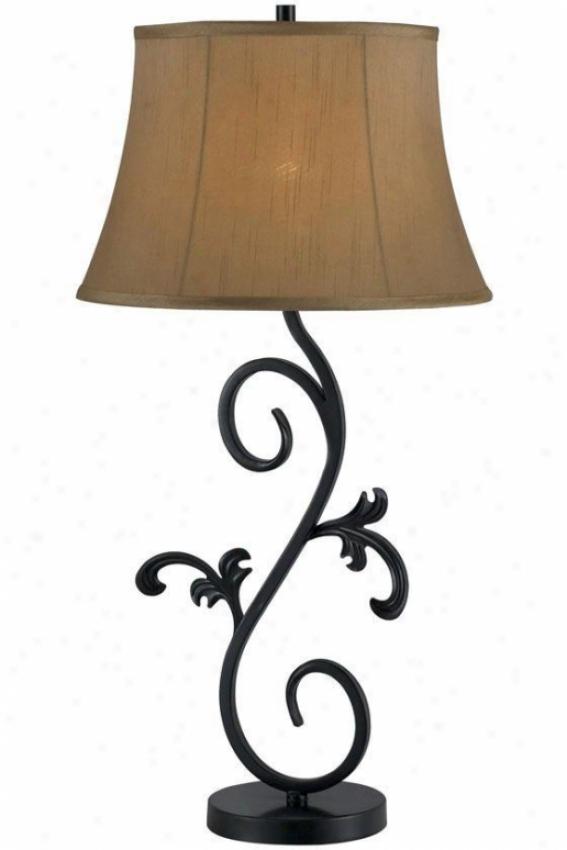 """diploma Table Lamp - 30""""h, Bronze"""