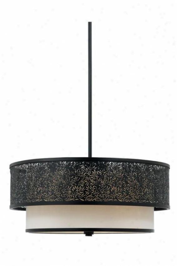 Eden 3-light Pendant - 3-light, Black