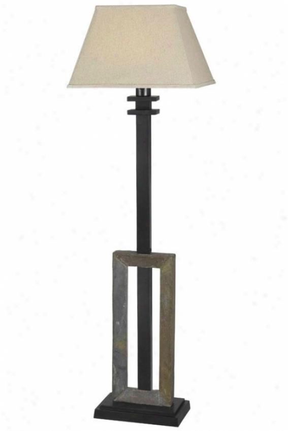 """""""egress Outdoor Floor Lamp - 58""""""""h X 17""""""""w, Beige"""""""