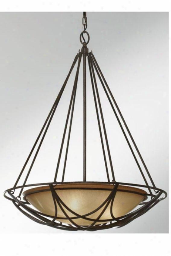 Elsworth Pendant - Three Light, Mocha Bronze