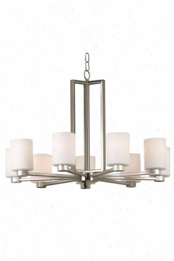 Embrace Chandelier - 9-light, Grey Steel