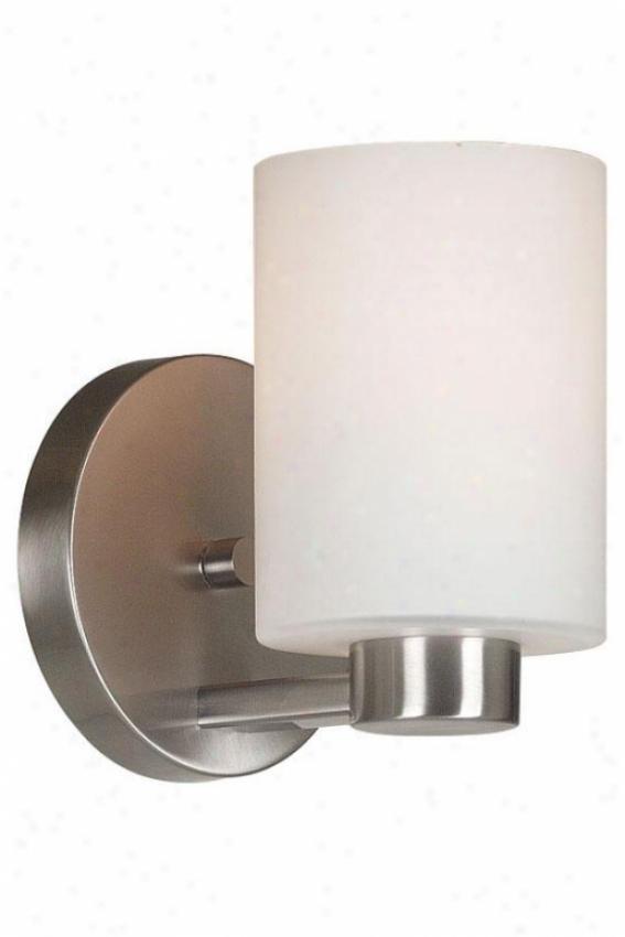 Embrace Sconce - 1-light, Grey Steel