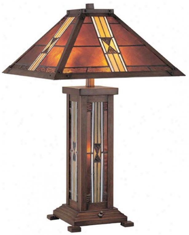 """farah Table Lamp - 25.5""""hx16""""d, Bronze"""