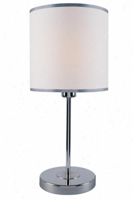"""fayola Table Lamp - 20.25""""u X 9""""w, White"""