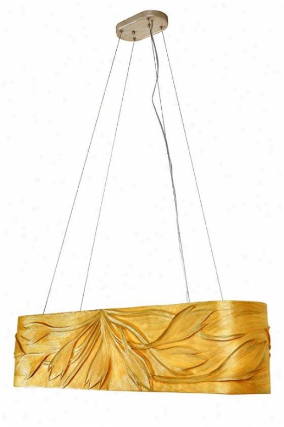 Flair 4-light Linear Pendant - Fouf Light, Ivoyr