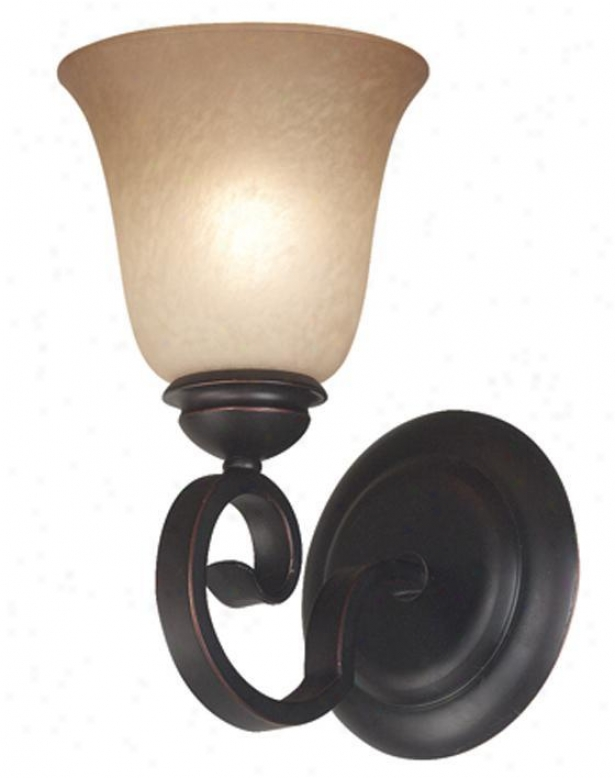"""flex Wall Sconce - 10""""h, Copper Bronze"""