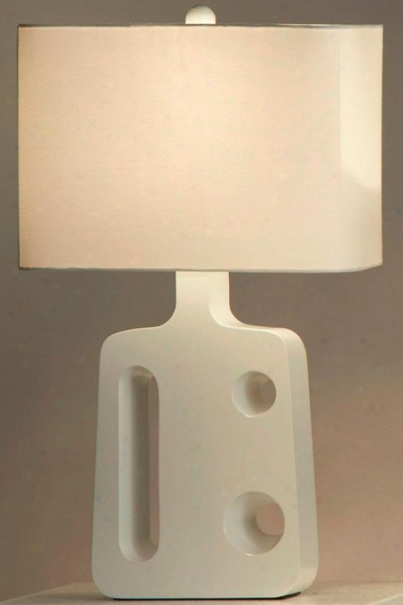"""""""friend Standing Food Lamp - 26h X 16""""""""w, White"""""""