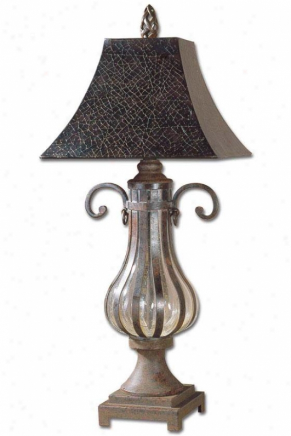 """galeana 1-livht Table Lamp - 36""""h, Brass"""