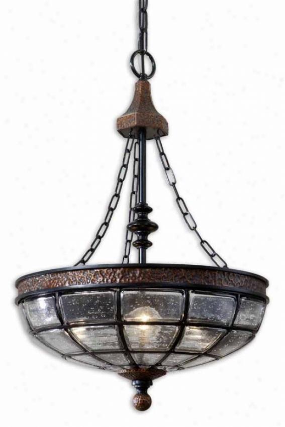 Gelati Pendant - 3 Light, Antiqued Copper