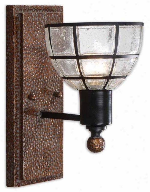 Gelati Wall Sconce - 1 Light, Antiqued Copper