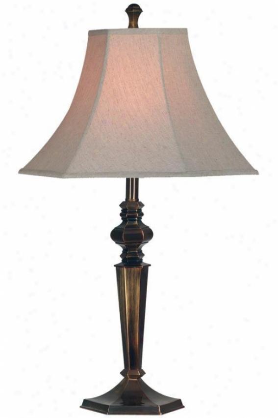 """georgetkwn Tablle Lamp Ii - 32""""h, Bronze"""