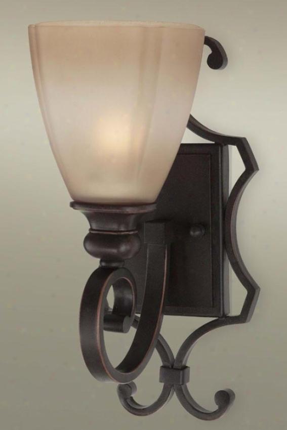 Grant Vanity Light - One Light, Beige