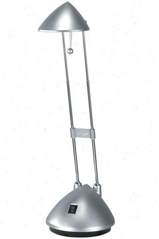 """""""halogen Ii Table Lamp - 15""""""""hx5.5""""""""w, Silver"""""""