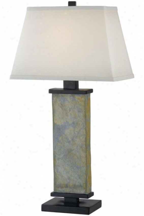 """hanover Table Lamp - 29""""h, Slate Gray"""