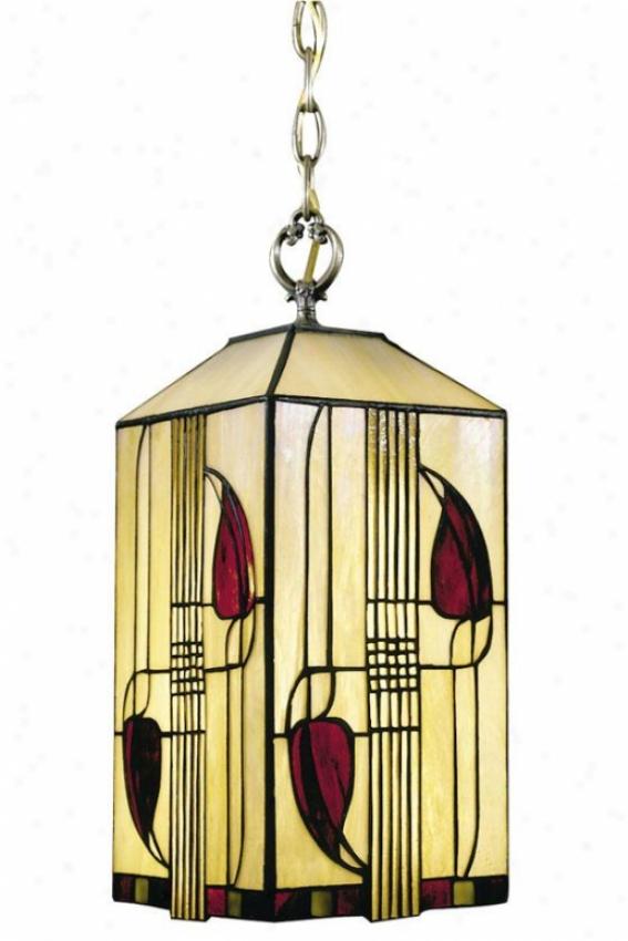 Henderson 1-light Old Brown Hanging Fixture - 1 Light, Bronze