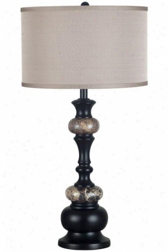 """""""hobart Table Lamp - 31""""""""h, Oil Rubbed Bronze"""""""