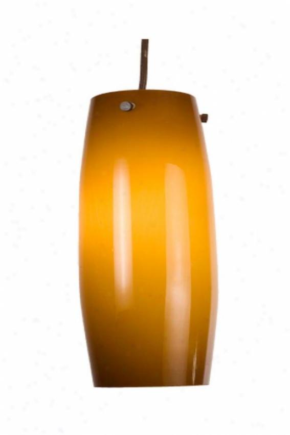 Home Decorators Collection Caramel Glass Vase Ear-ring - Medium 1 Light, Bronze