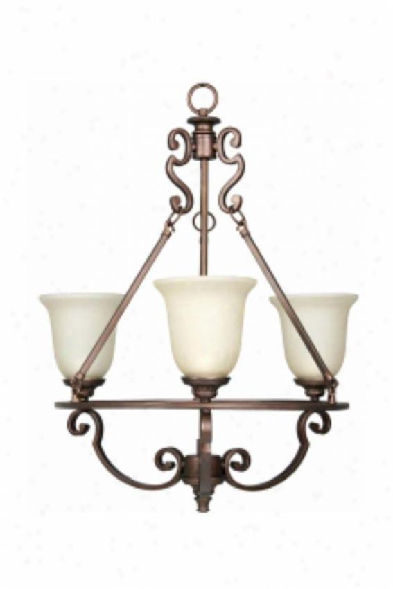 Domestic Decorators Collection Fairview 3-light Chandelier - 3 Light, Bronze