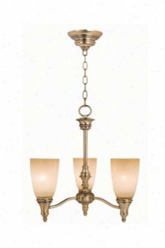 Home Decorators Collection Keswick Chandelier - 3 Light, Brass Brass