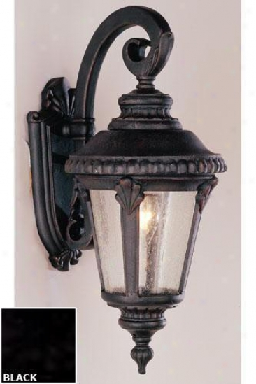 Kensington Small Wall Sconce - One-light, Black