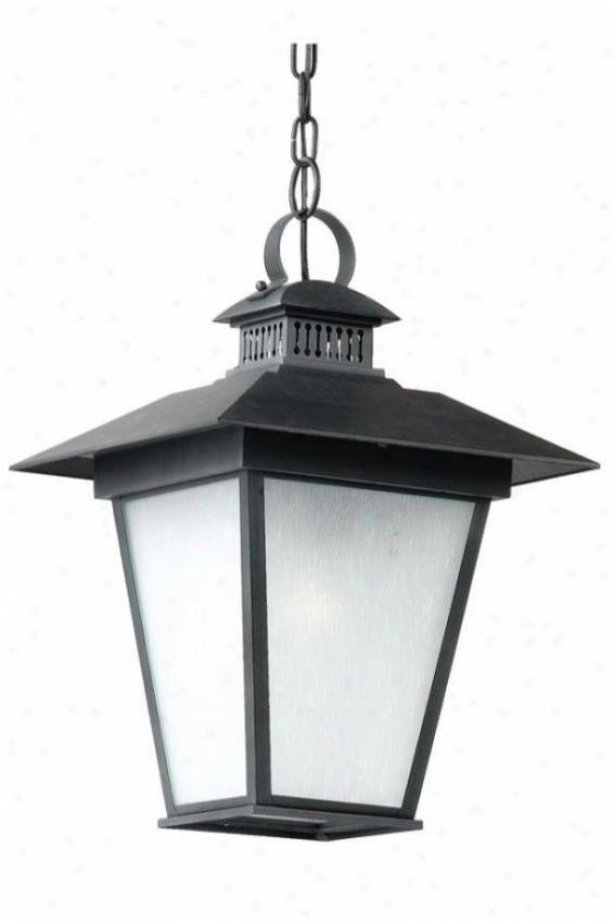 """""""kent Outdoor Hanging Lantern - 19""""""""h, Black"""""""