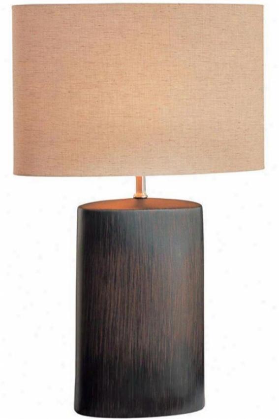 """""""keram Table Lamp - 24""""""""hx16""""""""d, Bronze"""""""