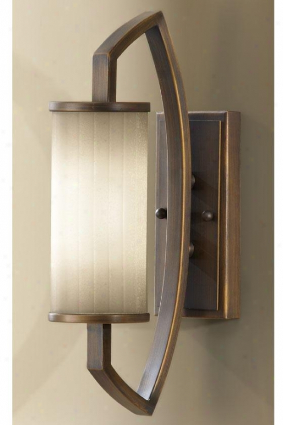"""kimberly Wall Sconce - 16.75""""h X 4 .5""""w, Beige"""