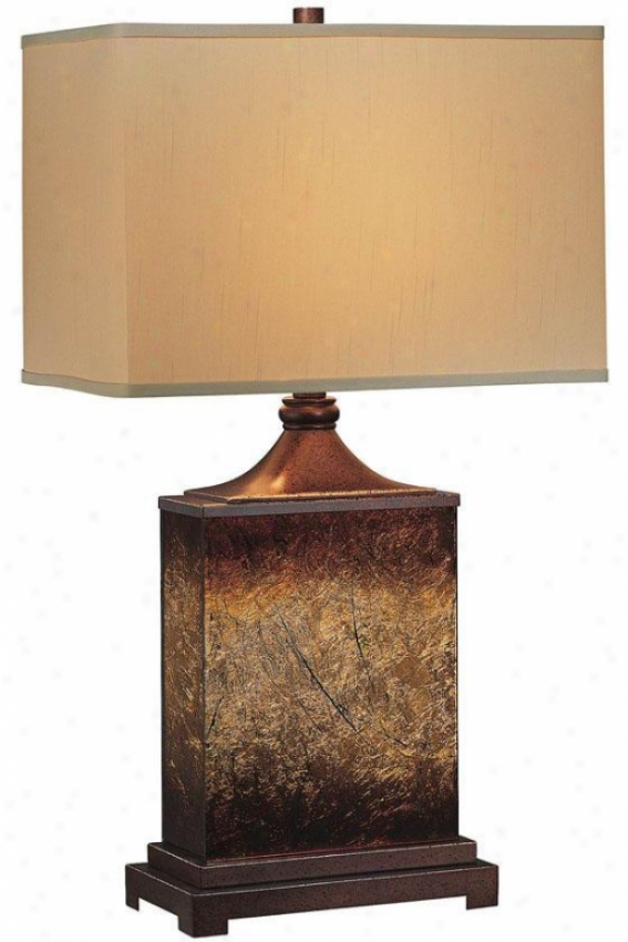 """kingsley Table Lamp - 16.25""""x28.5"""", Brown"""