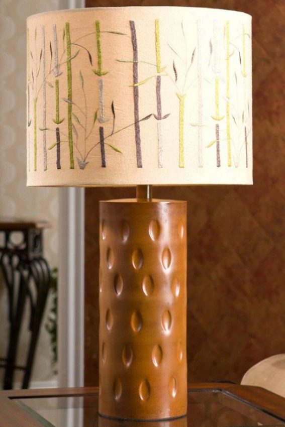 """knoshi Lamp Table Lamp - 26 X 14.25"""", Ivory"""