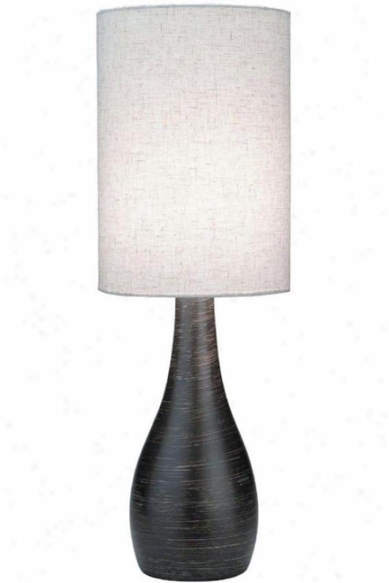 Lancashire Table Lamp - Lwrge, Bronze
