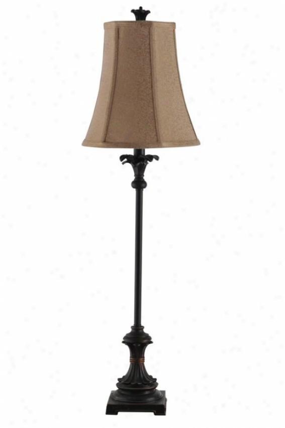 """""""lexi Buffet Lamp - 10""""""""wx10""""""""dx34""""""""h, Bronze"""""""