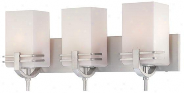 Logan 3-light Vanity - Three Light, Silver
