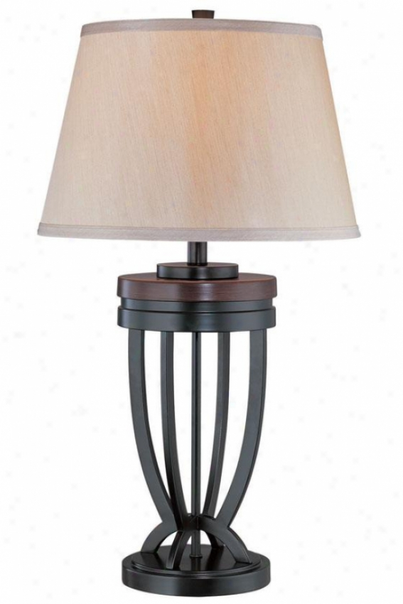 """luciana Table Lamp - 82.5""""h X 16""""w, Black"""